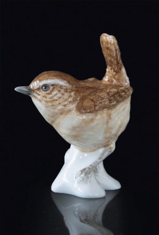 Photo of Wren Hand Painted Fine Bone China Miniature Figurine