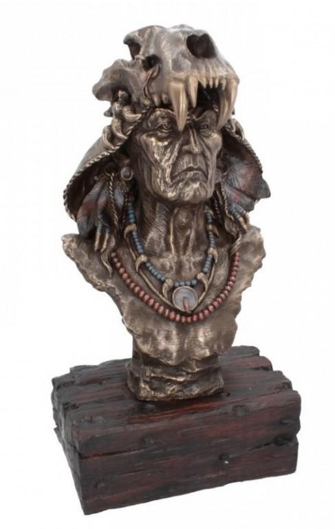 Photo of Achak Bronze Bust Figurine 51cm