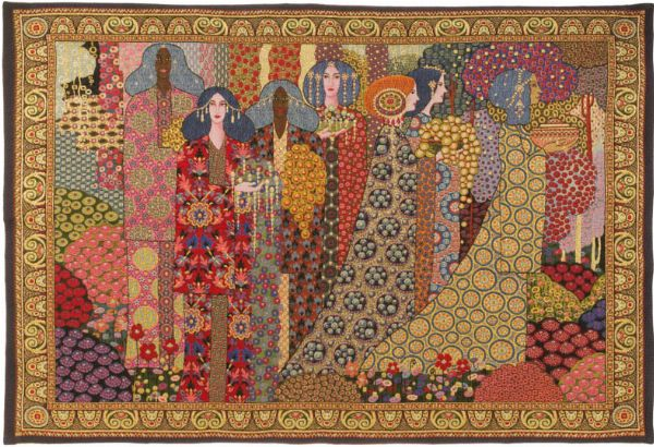Phot of Aladin By Gustav Klimt Wall Tapestry