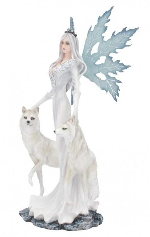 Photo of Aura Queen of Wolves Ice Fairy Statue 24 cm