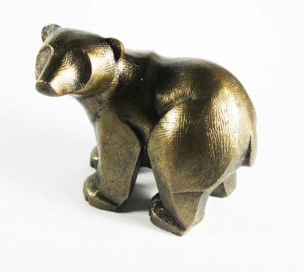 Photo of Baby Polar Bear Sculpture (Frith)
