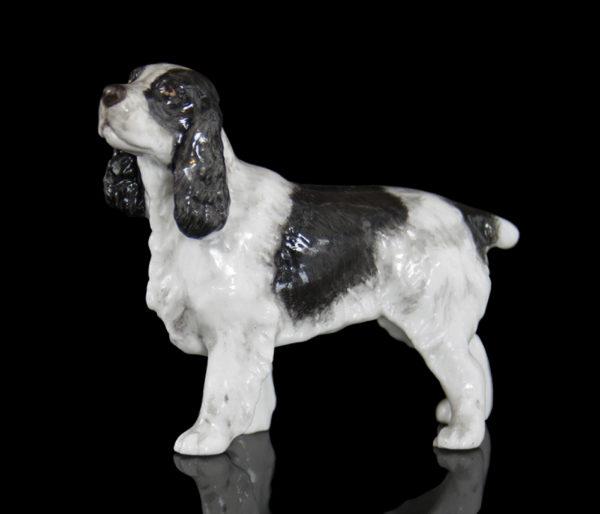 Photo of Cocker Spaniel Hand Painted Fine Bone China Miniature Figurine