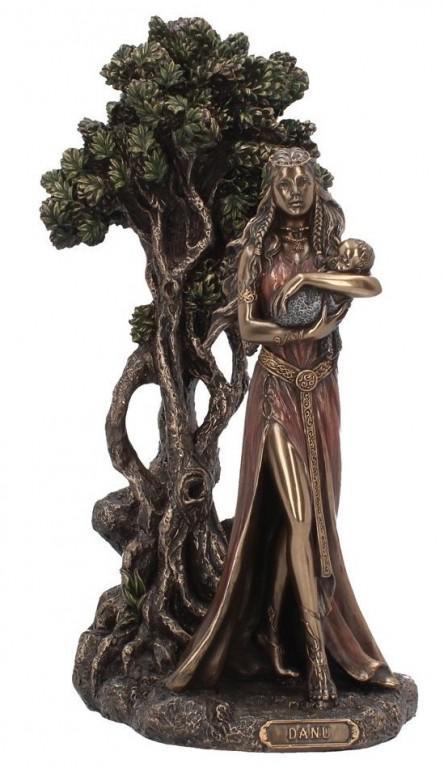 Photo of Danu Mother of the Gods Bronze Figurine 30 cm