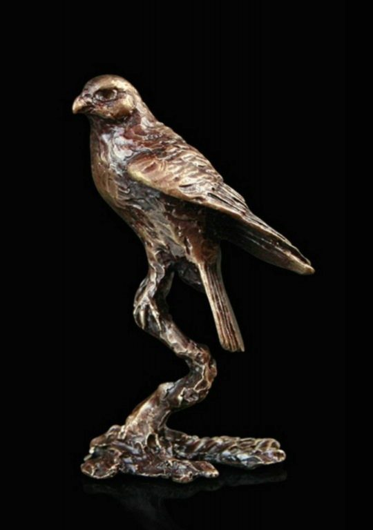 Photo of Falcon Bronze Miniature (Butler and Peach)