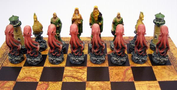 Photo of Fire vs Water Fantasy Chess Set