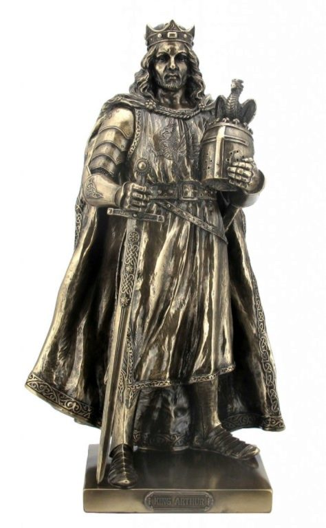 Photo of King Arthur Bronze Figurine