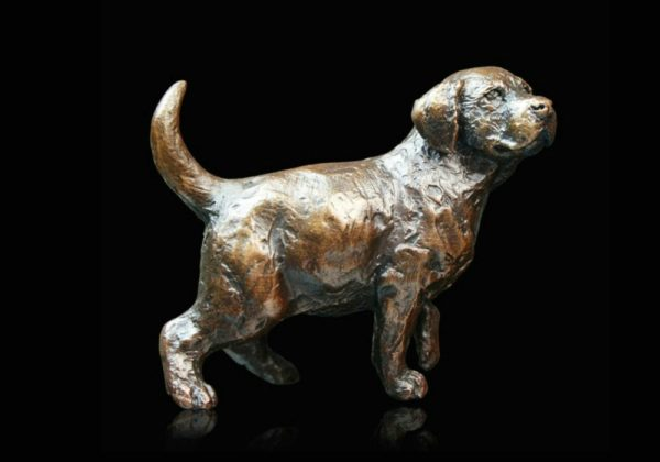 Photo of Labrador Puppy Standing Small Figurine (Limited Edition) Michael Simpson