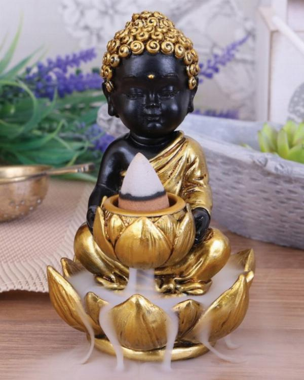 Photo of Little Buddha Backflow Incense Burner