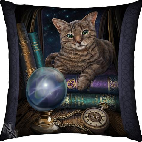 Photo of Mystic Cat Cushion (Lisa Parker)