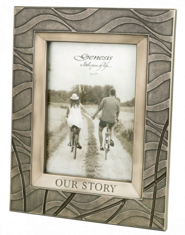 Photo of Our Story Frame Bronze (Photo size 7 x 5 inches)