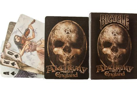 Photo of Playing Cards Deck (Alchemy Carta Artwork)