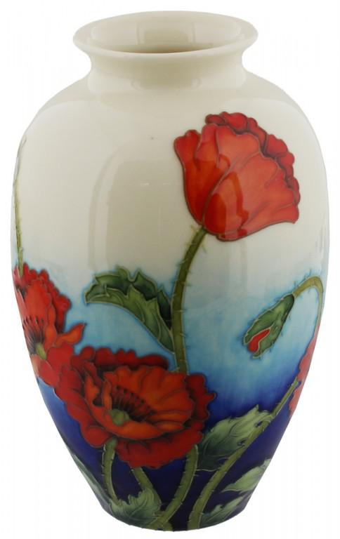 Photo of Poppy Design Vase 8 inches (Old Tupton Ware)