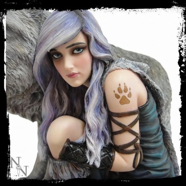 Photo of Protector Wolf Statue (Anne Stoke) Large Limited Edition