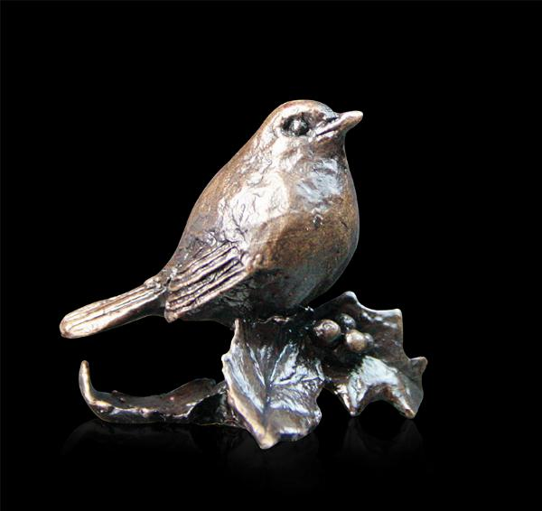 Photo of Robin Bronze Miniature (Butler and Peach)
