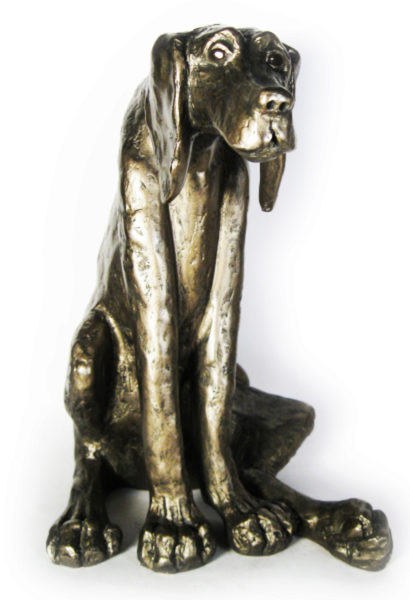 Photo of Sidney the Dog Bronze Figurine (Paul Jenkins)