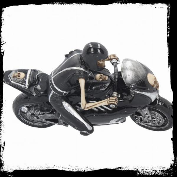 Photo of Speed Reaper Skeleton Biker Figurine James Ryman