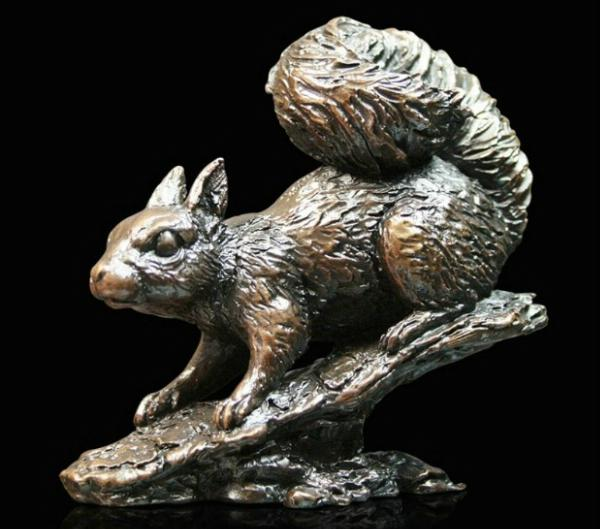 Photo of Squirrel Bronze Figurine (Limited Edition) Keith Sherwin