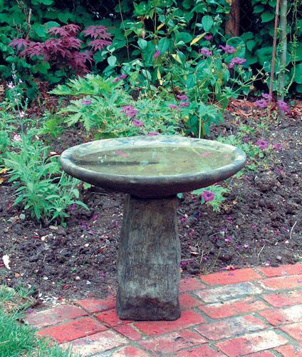 Photo of Staddle Stone Birdbath