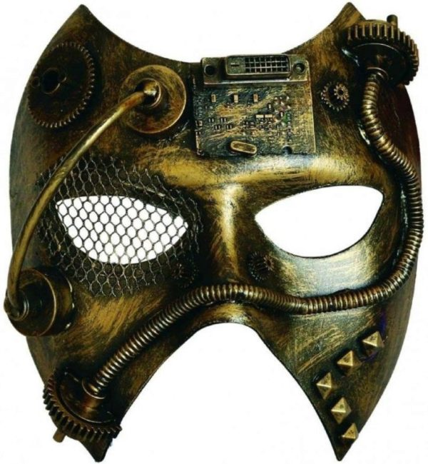 Photo of Steampunk Phantom Costume Mask