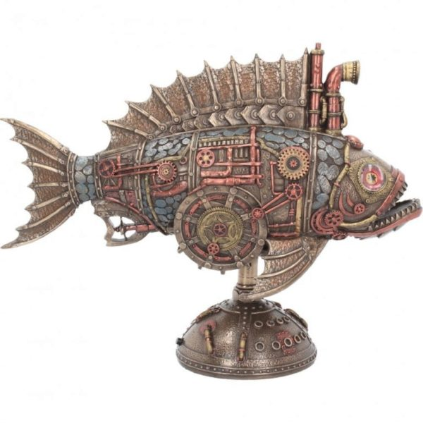 Photo of Steampunk Piranha Explorer Submarine 31 cm Light Beam Feature