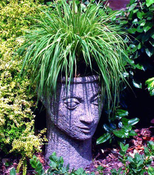 Photo of Stone Head Vase