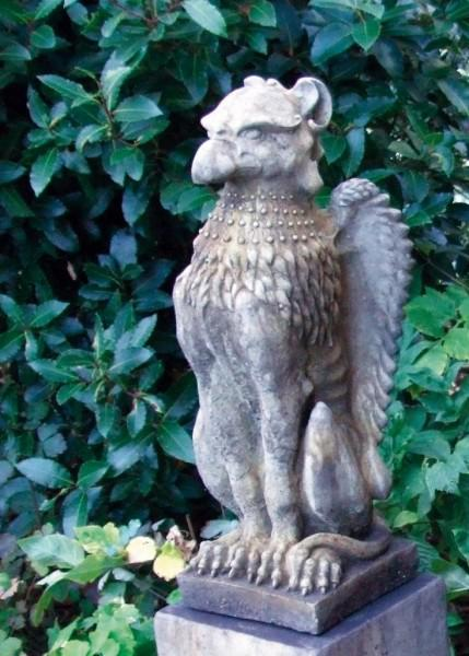 Photo of Upright Griffin Stone Statue
