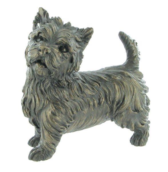 Photo of West Highland Terrier Bronze Figurine