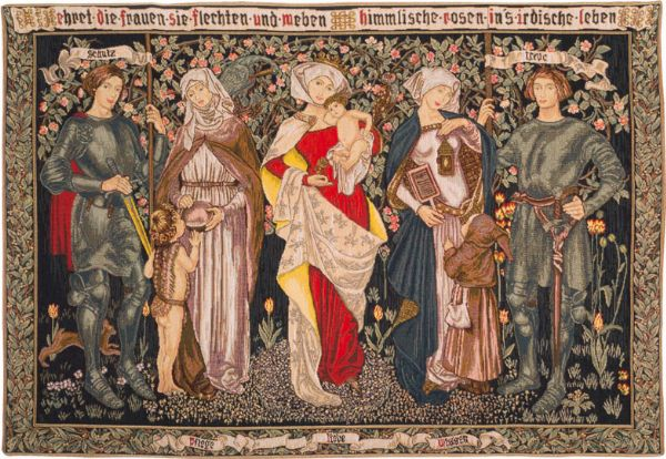 Phot of William Morris Tribute Wall Tapestry
