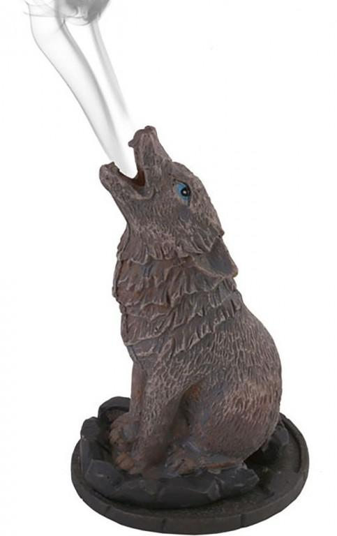Photo of Wolf Incense Cone Holder by Lisa Parker