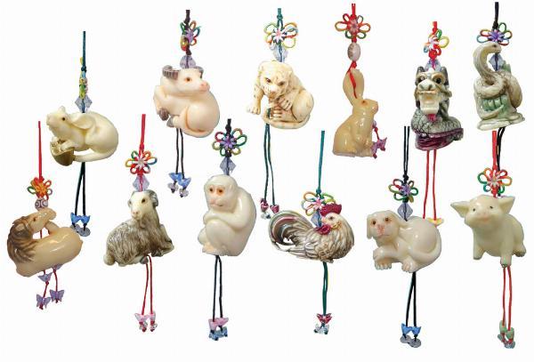 Photo of Zodiac Animal Pendants
