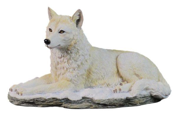 Photo of Arctic Wolf Figurine
