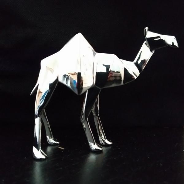 Photo of Camel Standing Hallmarked Sterling Silver Miniature NOMI Design