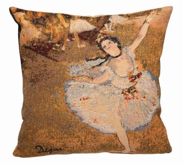 Phot of Edgar Degas Dance Tapestry Cushion