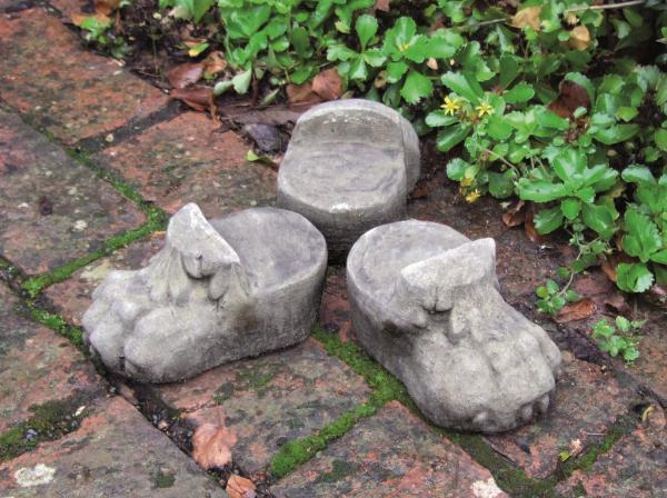 Photo of Giant Stone Flower Pot with Feet