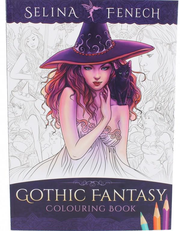 Photo of Gothic Fantasy Colouring Book Selina Fenech