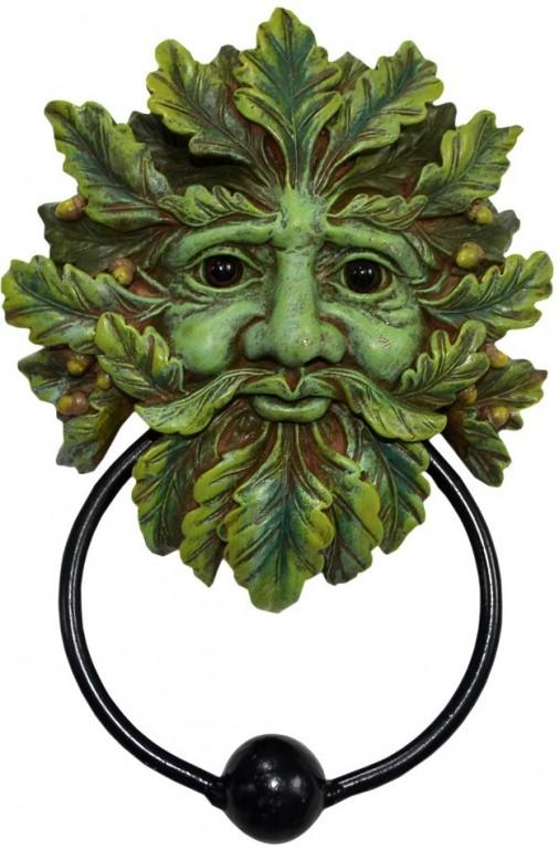 Photo of Green Man Door Knocker