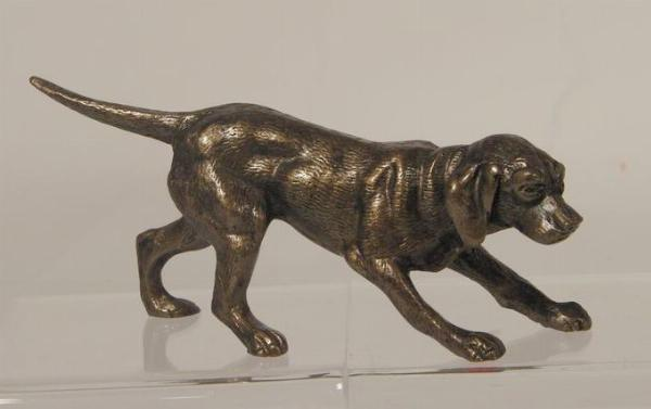 Photo of Gundog Bronze Figurine