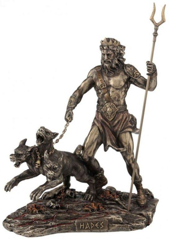 Photo of Hades Bronze Figurine 23cm