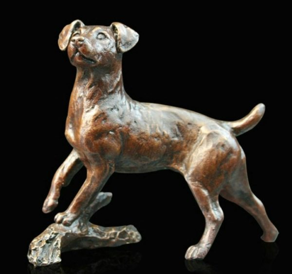 Photo of Jack Russell Bronze Figurine (Limited Edition) Michael Simpson