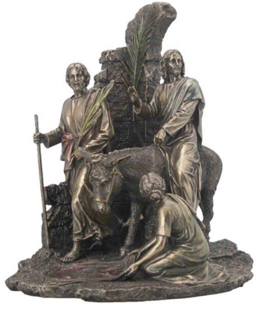 Photo of Jesus Enters Jerusalem Bronze Figurine 31 cm
