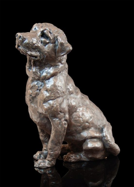 Photo of Laddie Labrador Bronze Sculpture Grant Palmer 25 cm