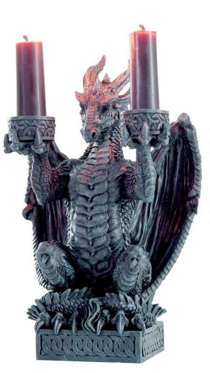 Photo of Light Keeper Dragon Candle Holder 20 cm