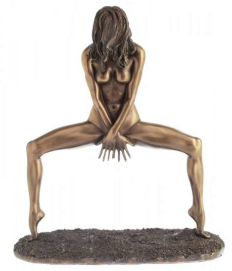 Photo of Lola Bronze Dancing Nude Figurine