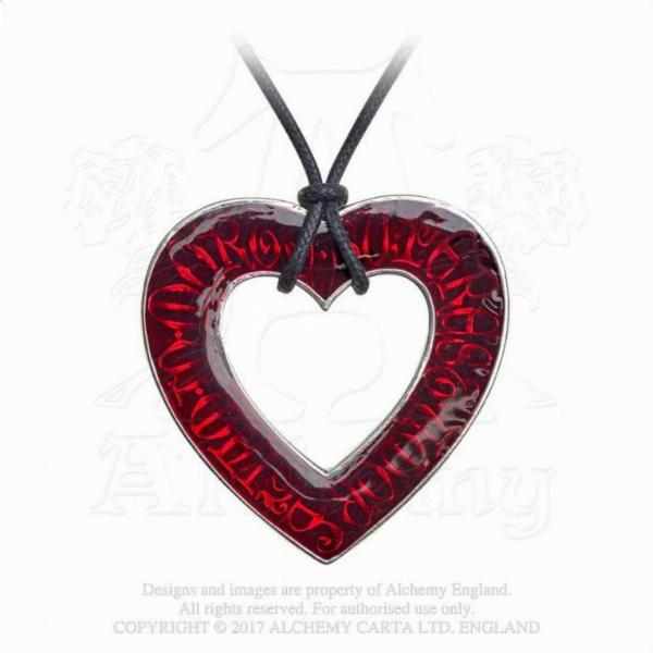 Photo of Love Over Death Heart Pendant