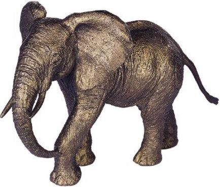 Photo of Mother Elephant Bronze Sculpture