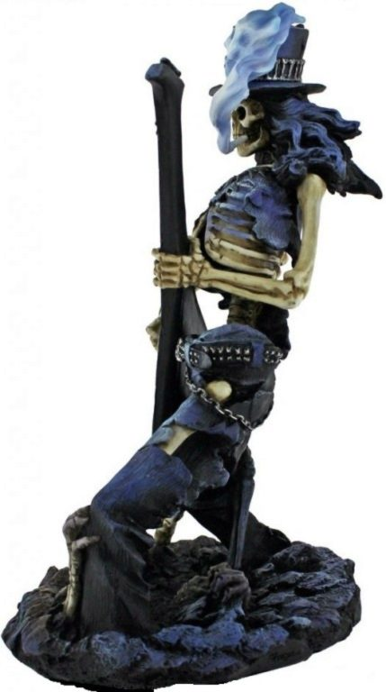Photo of Play Dead Skeleton Rocker Figurine 24.5cm