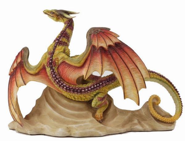 Photo of Samoon Desert Dragon Figurine (Andrew Bill) 19 cm