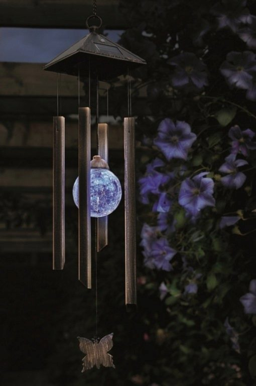Photo of Solar Light Wind Chime Large