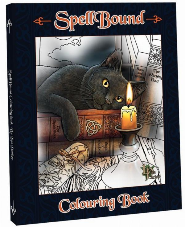 Photo of Spellbound Colouring Book Lisa Parker
