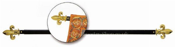 Phot of Tapestry Wall Hanging Rod